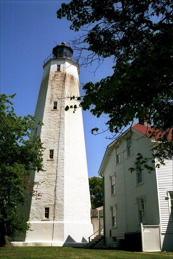 Sandy Hook Lighthouse west side