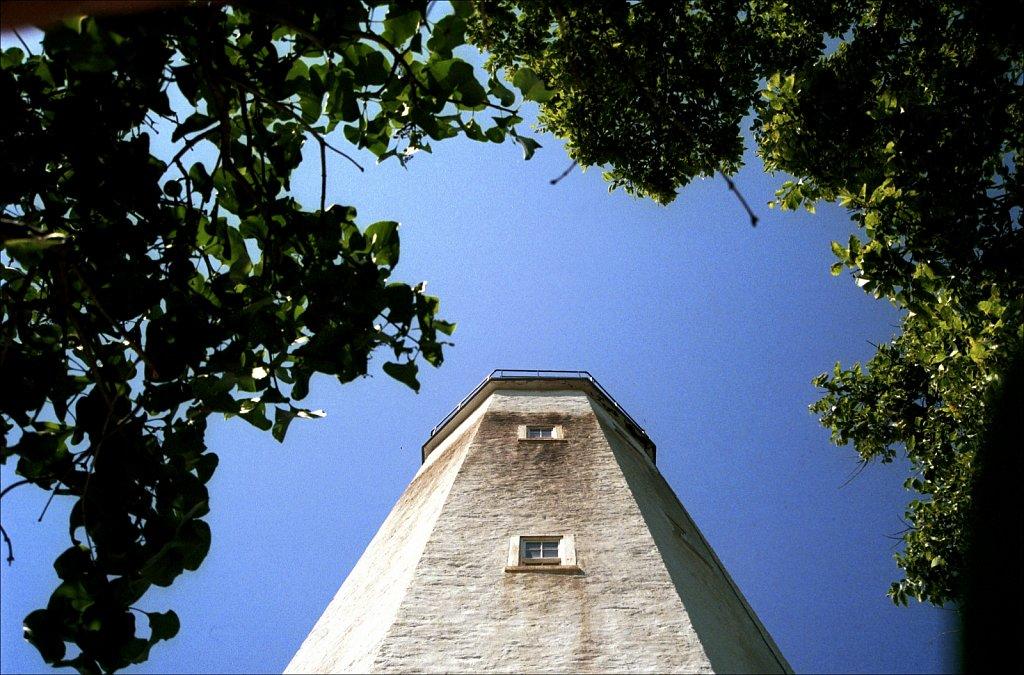 Sandy Hook Lighthouse East face