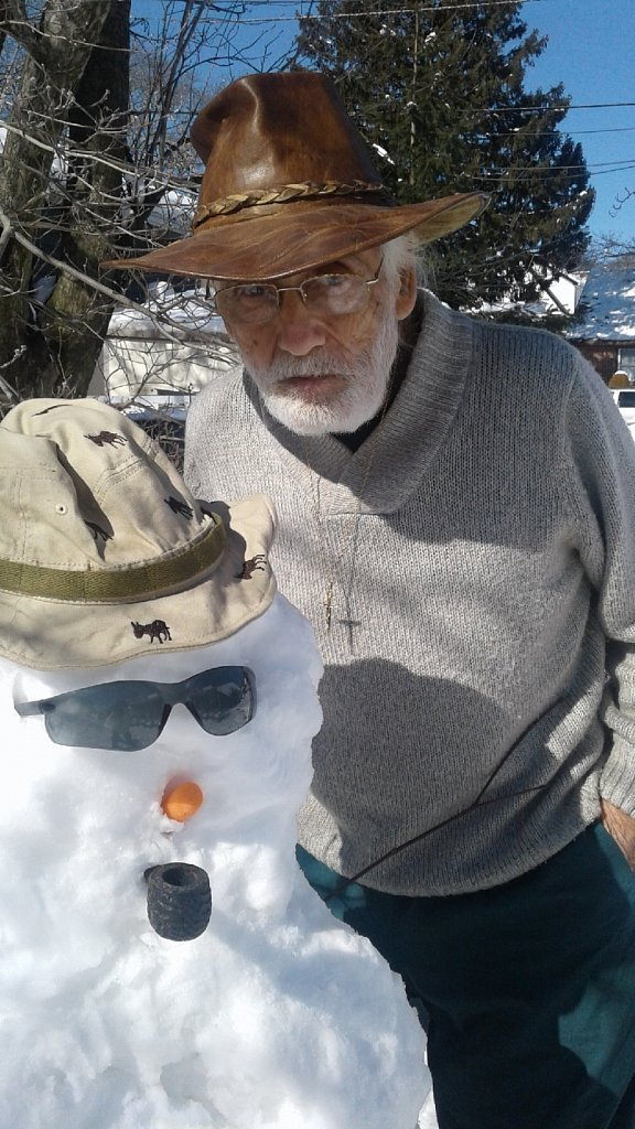 Pop and The Snowman