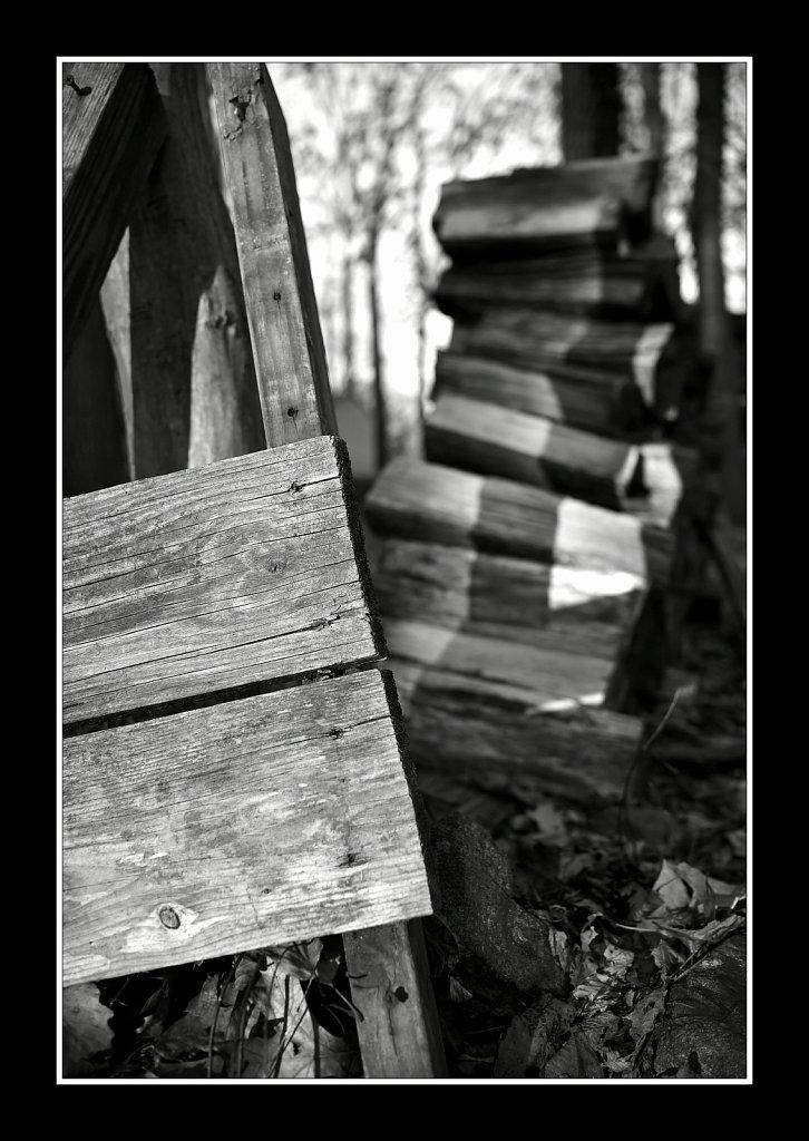 Shrinking Woodpile