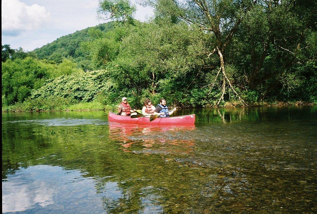 East Branch Canoe Trip