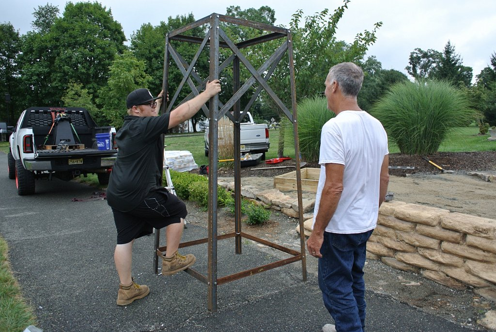 2020 Building the AVM Acension Bell Tower